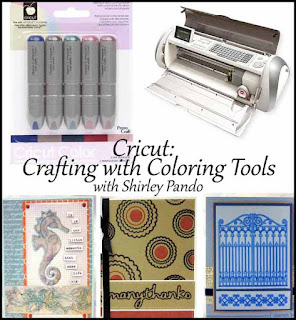Cricut: Cafting with Coloring Tools