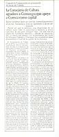 Artículo Diarío YA. Fecha 29/10/1983