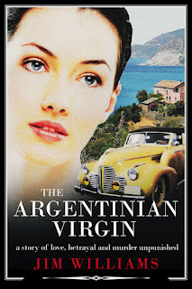cover for The Argentinian Virgin by Jim Williams