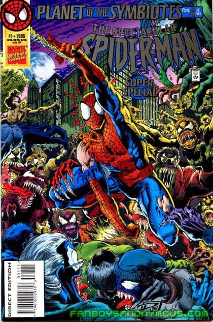 Relive the complete Planet of the Symbiotes event in Spider-Man: The Complete Clone Saga volume 2 available on Amazon