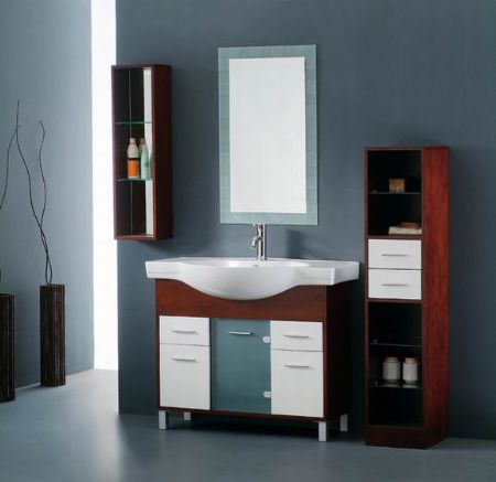 Bathroom cabinets designs interior home design for Bathroom counter designs