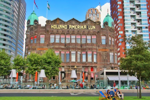 Edificio Hotel New York en Rotterdam