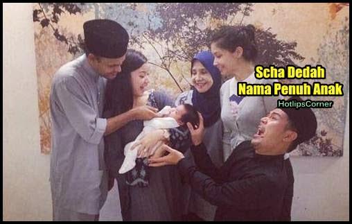 Terjawab Sudah Gambar Muka Nama Penuh Anak Scha Yahya