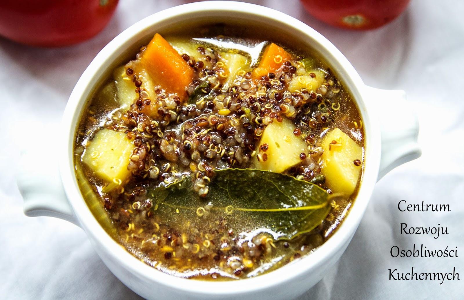 Zupa pomidorowa z komosą ryżową