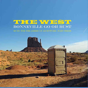 """The West"" Bonneville Go or Bust Album cover"