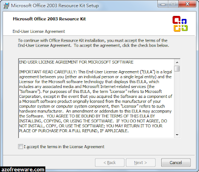 Office 2003 Editions Resource Kit Tools