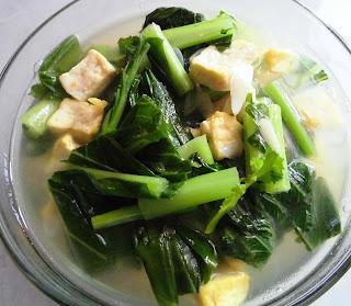resep masakan sawi hijau