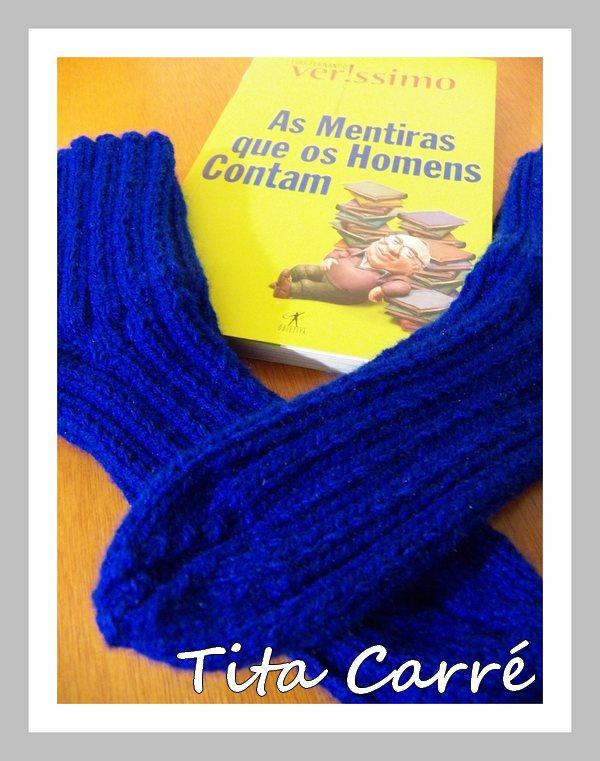 Meia em tricot e quais são as mentiras que os homens contam?