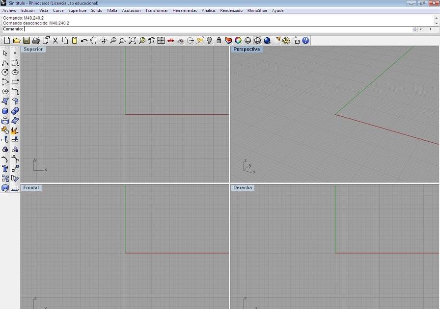 Diseño 3D y mucho mas: Sesion No. 1 Interfaz 1