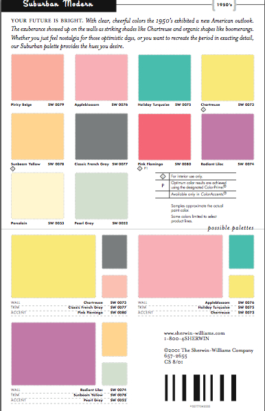 Mid Century Paint Colours On Pinterest Mid Century