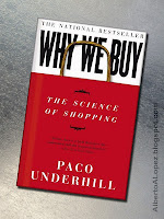"Beauty shot picture of book by Paco Underhill, ""Why We Buy"", ""The Science Of Shopping"""