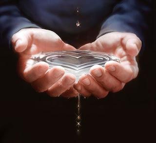fotos de amor corazon de agua