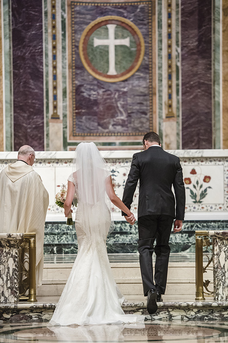 DC Wedding Photography at the Cathedral of St. Matthew the Apostle