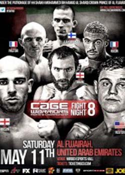 Cage Warriors Fight Night 8 (2013)
