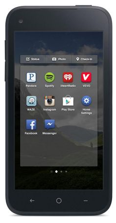 Facebook Home App Launcher 1