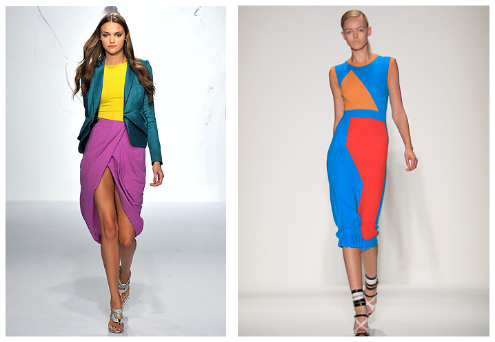 What is color blocking in fashion 9