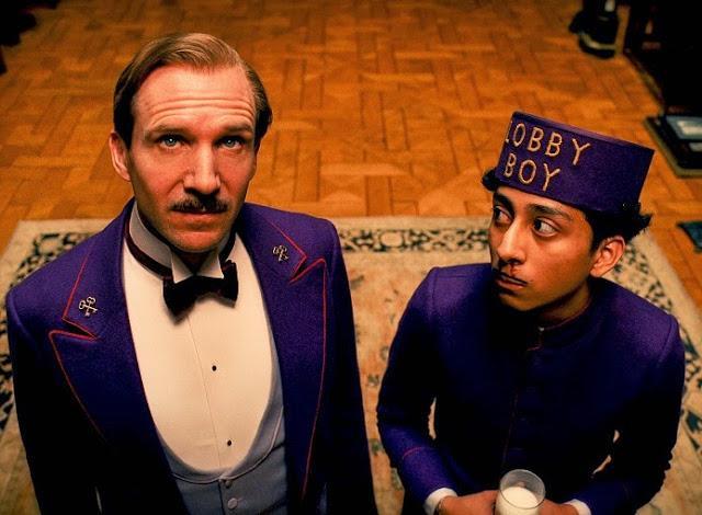 Grand Budapest Hotel movie still
