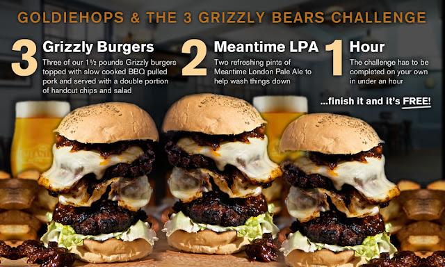 Burger Me A London Burger Blog The Thirsty Bear Burger