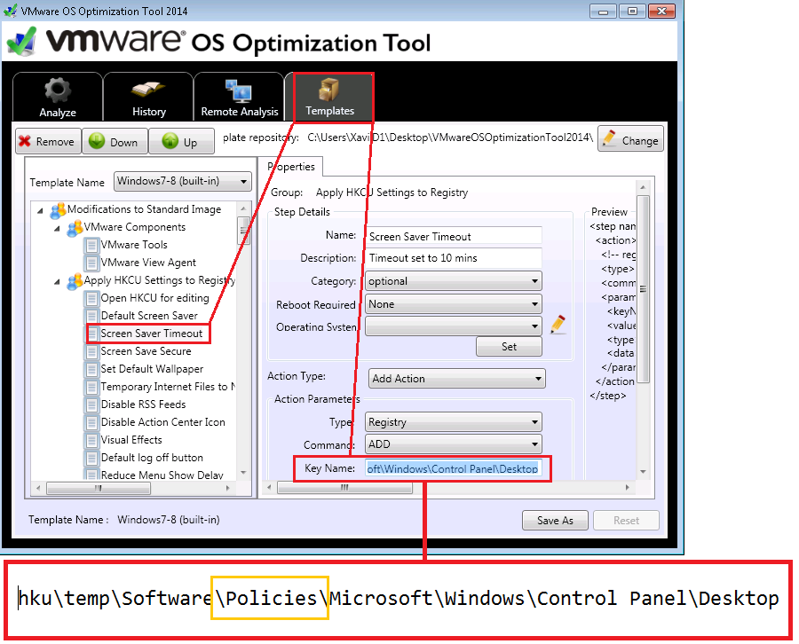 VMWare: OS Optimization Tool