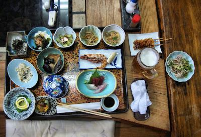 Marueda Kirishima-So, Japanese food, Kyushu