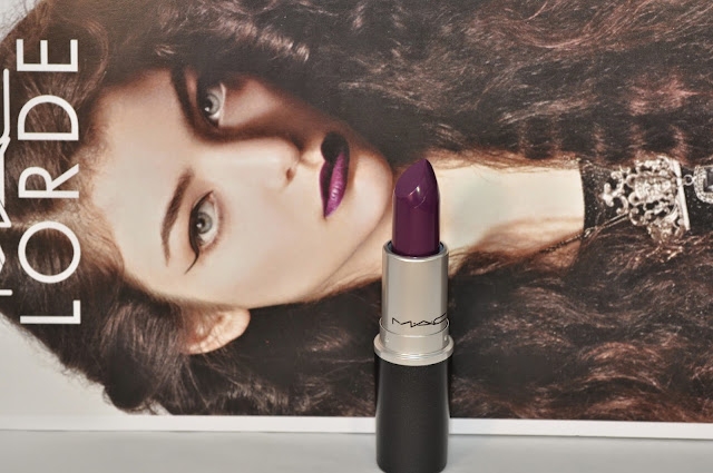 MAC Lorde lipstick in Pure Heroine