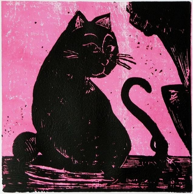 A cat print