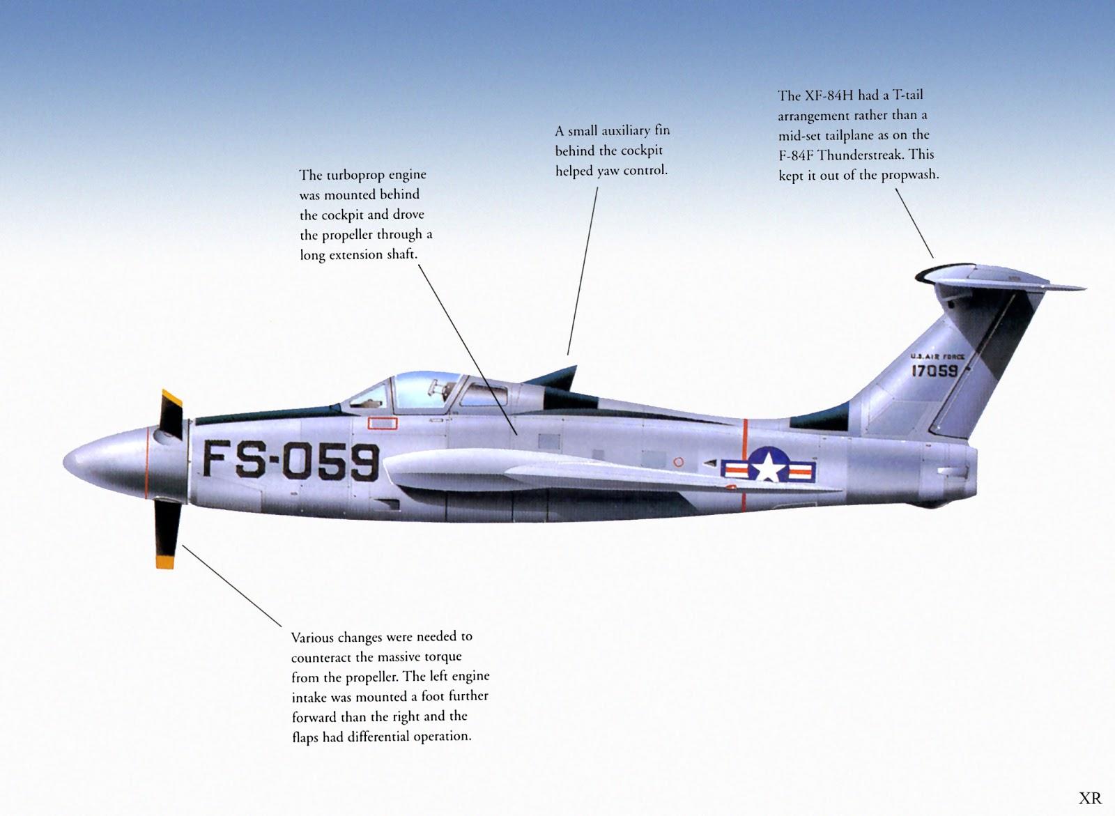 ATOMIC-ANNIHILATION: 1955 ... Republic XF-84H