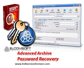 Winrar and Winzip password hacker Free download Advanced Archive Password Recovery Pro with keys and crack for windows