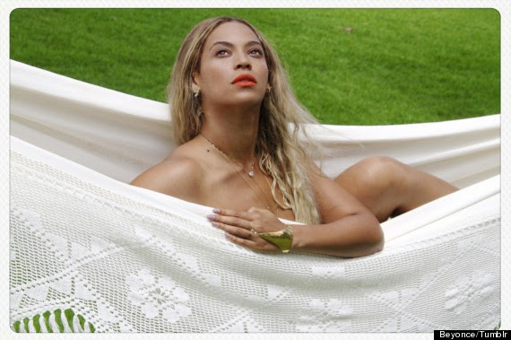 Beyonce Poses Nude In A Hammock, Posts Sexy Pics