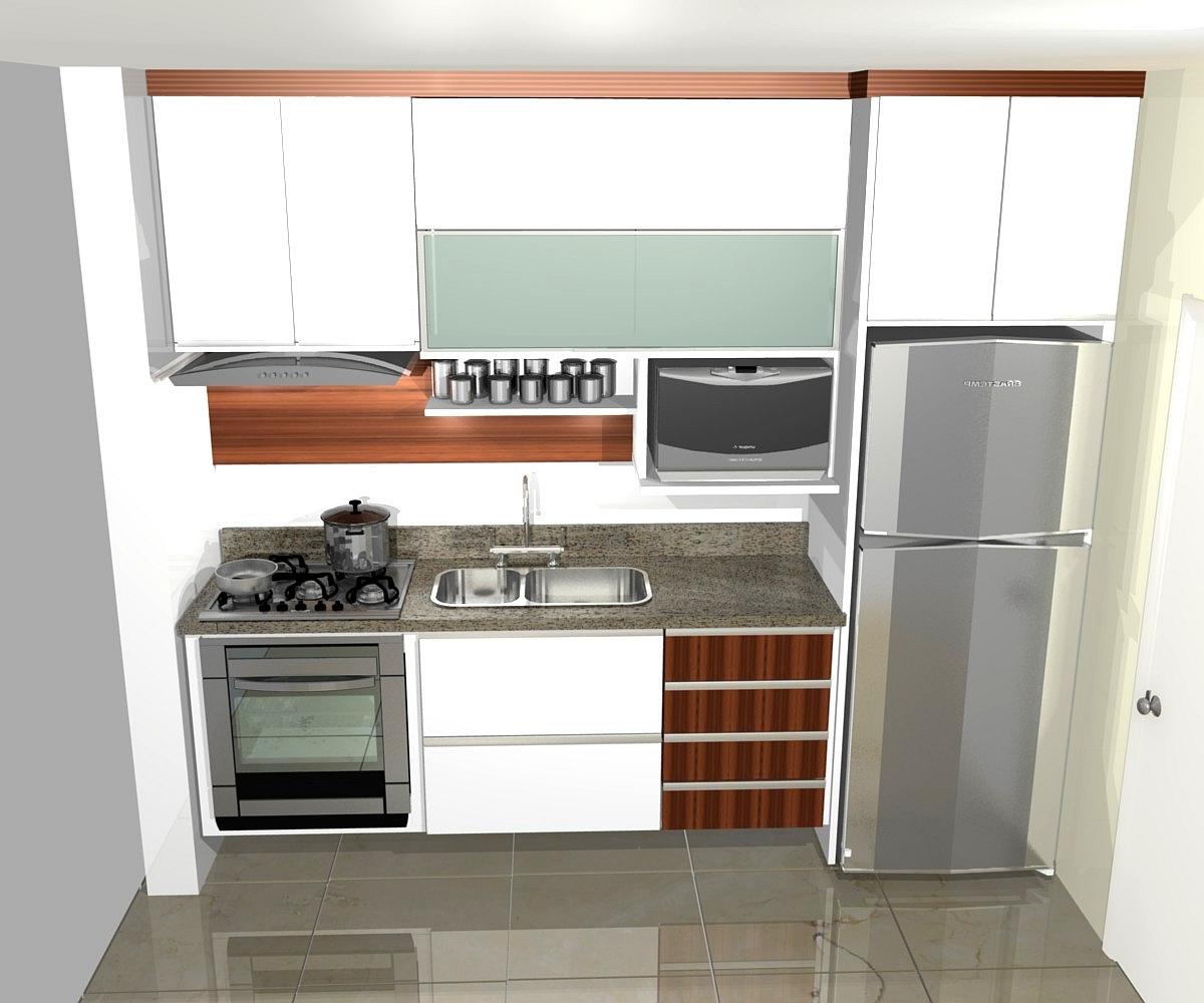 cozinhas planejadas simples bonita pequenas de luxo projeto branca #723E26 1200 1000