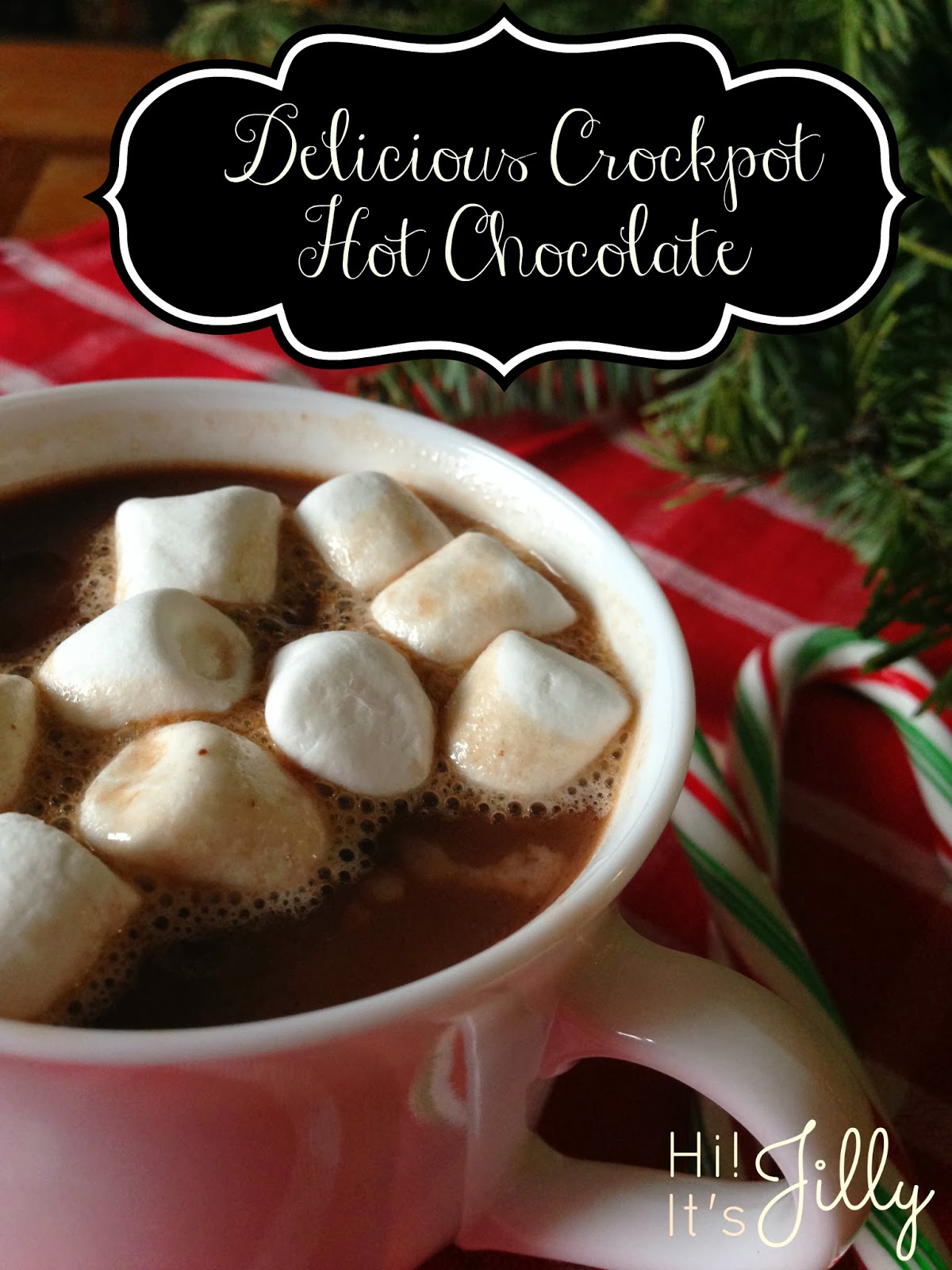 This Delicious Crockpot Hot Chocolate from Hi! It's Jilly would be ...