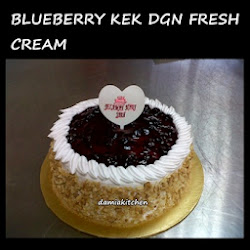 Birthday Kek-Fresh Cream