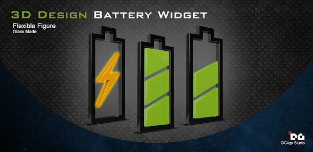 3D Design Battery Widget R5 v1.0 Android