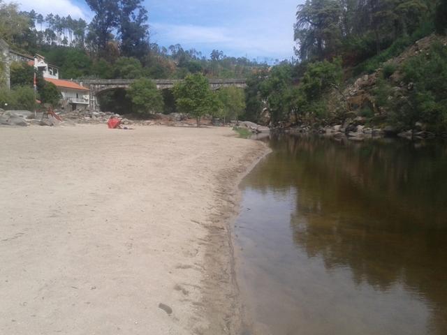 Areal e Rio Dão em Sangemil