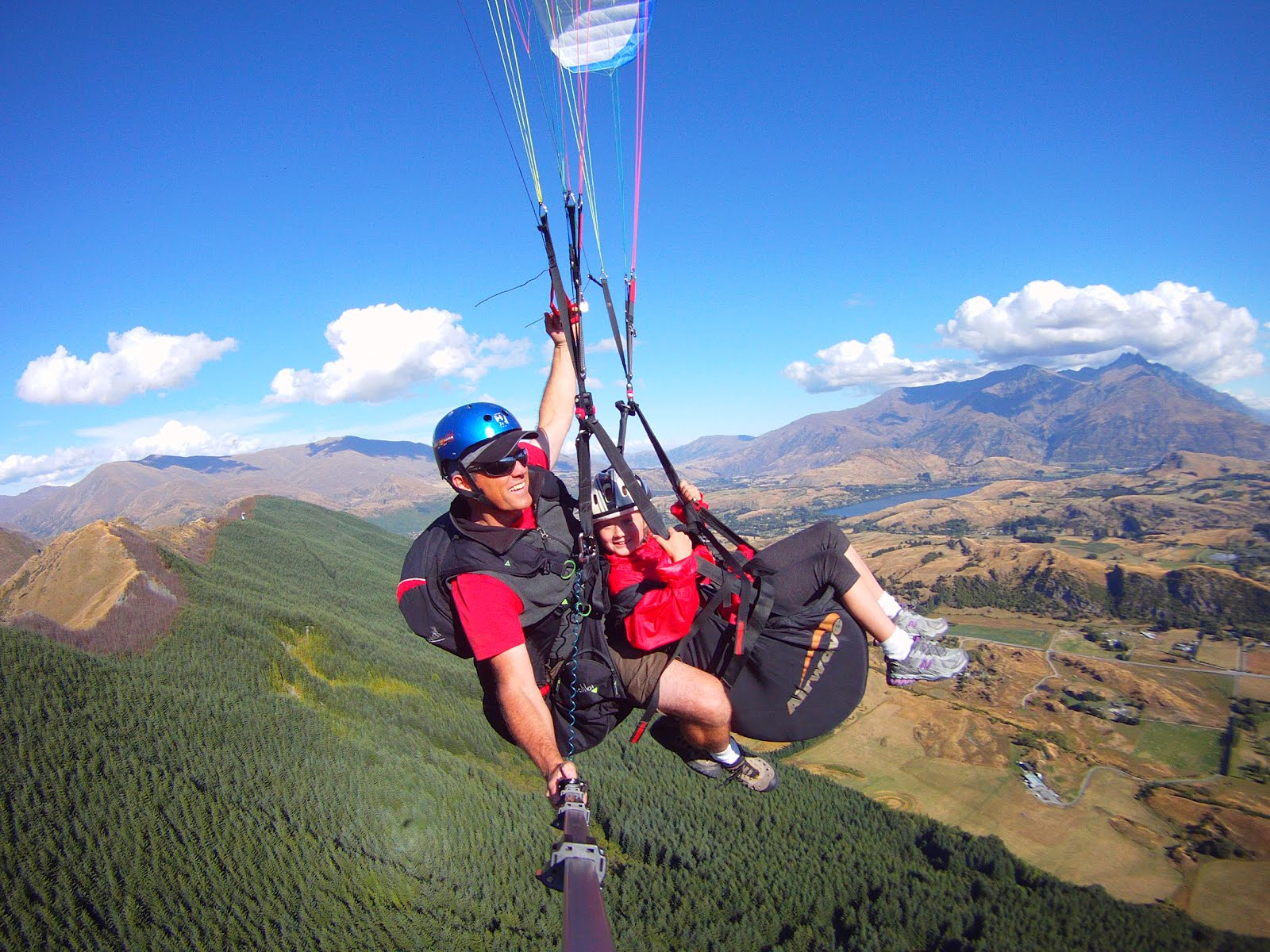 The gallery for --> Tandem Hang Gliding