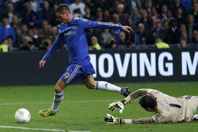 Torres Goal against benfica