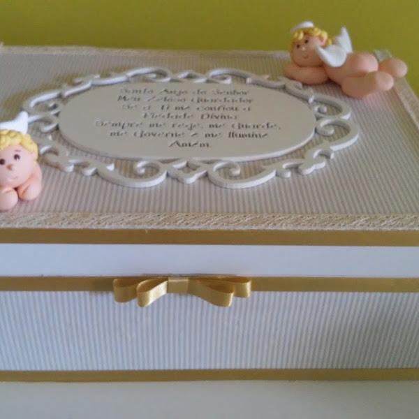 Caixa de Anjos com Oração