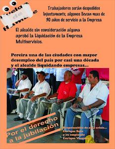 Huelga de hambre Sintraemsdes Pereira