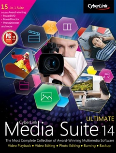 CyberLink Media Suite Ultimate V14 + Keygen