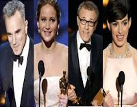 The Oscars 2013 Winners Image