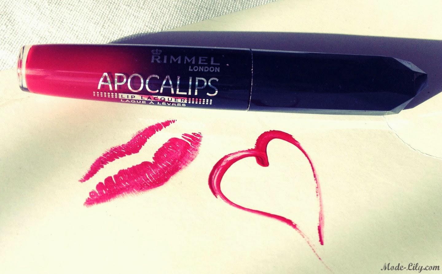 Rimmel Apocalyps Lip Lacquer