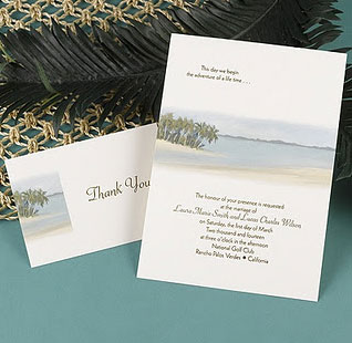 Couture Destination Invitation