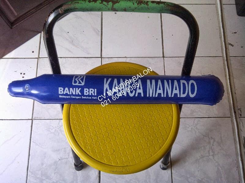 BALON TEPUK BANK BRI KANCA MANADO