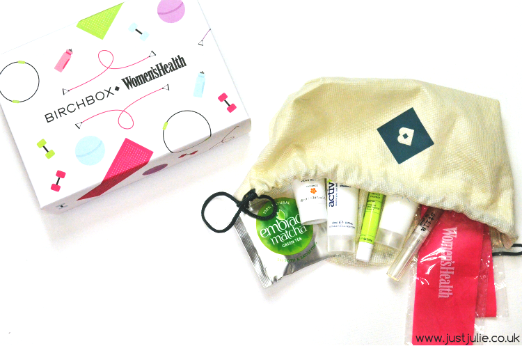 January Birchbox | Womens Health Magazine
