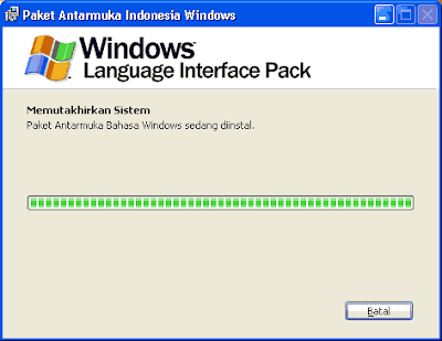 Install Language Interface Packs