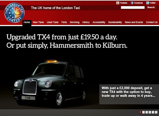 http://www.london-taxis.co.uk/