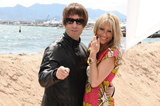 Liam Gallagher and his wife All Saints star Nicole Appleton