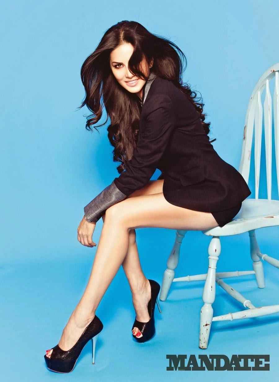 Sunny Leone Hot Mandate Magazine