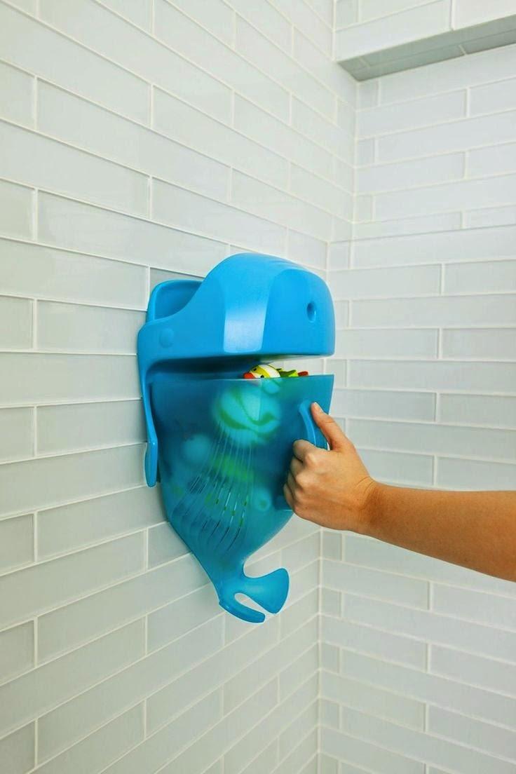 Un baño funcional para toda la familia