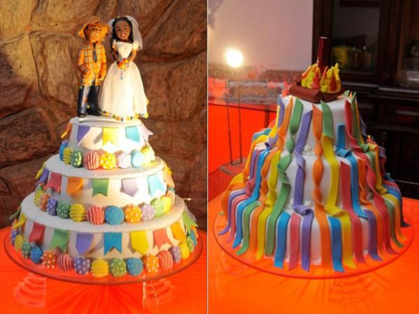 Noivado ou casamento com tema Festa Junina
